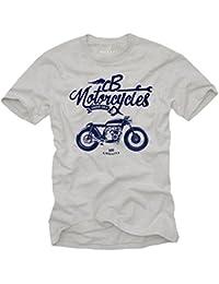 Vetement Homme - Cafe Racer Moto CB 550 - Biker T-Shirt