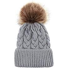 ecmqs gorro de punto – sombrero de base o bebé sombrero parent-enfant  Vaciar de 70fbfd69734