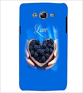 PrintDhaba Love D-2058 Back Case Cover for SAMSUNG GALAXY ON 7 (Multi-Coloured)