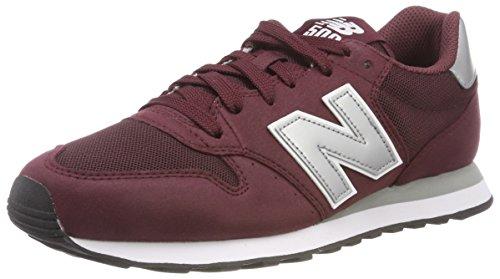 New Balance 500, Sneaker Uomo, Rosso (Burgundy), 44 EU