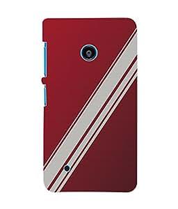 Fuson 3D Printed Colour Pattern Designer Back Case Cover for Nokia Lumia 530 - D862