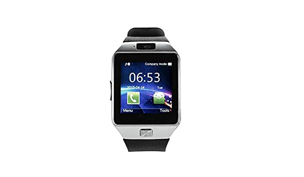 c72f3f3a51f MUSTTALK Bluetooth Smartwatch with Camera and SIM Memory Card Support Calling  Function for Vivo v11 (Silver)  Amazon.in  Computers   Accessories