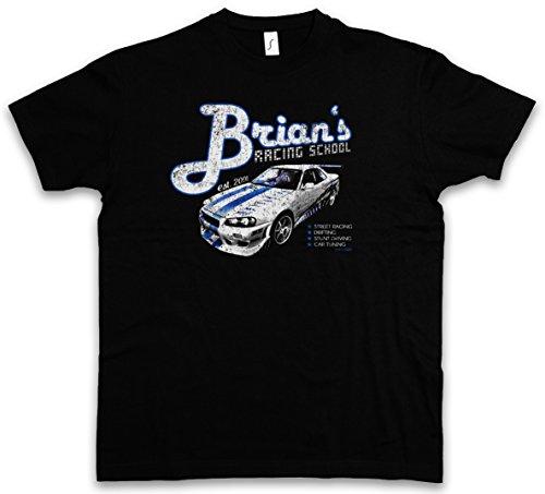 brians-racing-school-t-shirt-paul-2013-street-racing-walker-nissan-drifting-skyline-tamanos-s-5xl