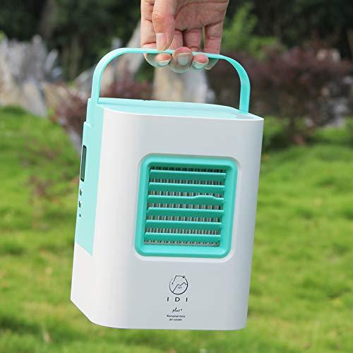Luftkühler Ventilator, BG&MF Air Cooler mit Luftreiniger Befeuchter Wasserkühlung, Mini Klimagerät ohne Abluftschlauch für Büro, zu Hause, Camping usw.