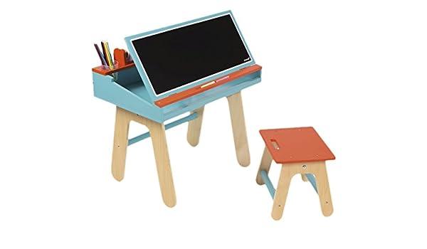 Janod jouet en bois bureau de combinaison avec accessoires