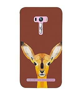 PrintVisa Designer Back Case Cover for Asus Zenfone Selfie ZD551KL (Animated Deer)