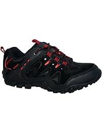 Northwest Territory Mens Nevada Fully Waterproof Walking/Hiking Lace UP Trainer Shoe