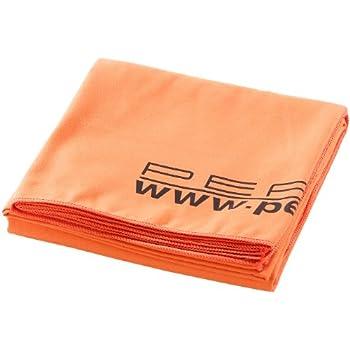 PEARL Extra saugfähiges Mikrofaser-Badetuch 180 x 90 cm, orange