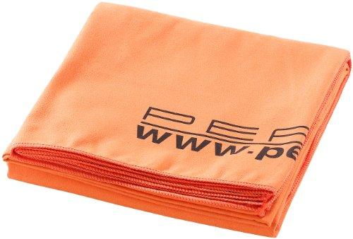 PEARL Extra saugfähiges Mikrofaser-Badetuch 180 x 90 cm, orange -