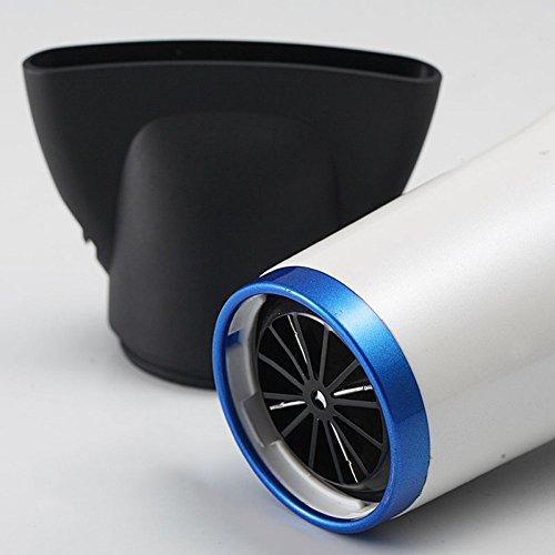 PIAOL By 2200 Haartrockner Mit Ionen-Technologie, 3 Heiz-/3 Gebläse-Stufen, AC-Motor, 2200 Watt (3 Gang Gebläse Motor)