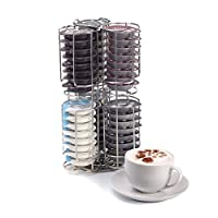 Kabalo Stainless Steel 48 Coffee Pod Capsule Holder Dispenser Stand for Tassimo