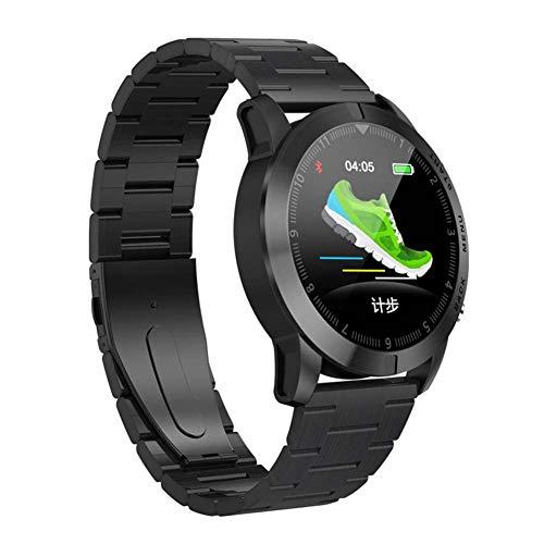 WHOME Smart-Uhren Smart-Armband Stahlband Smart-Uhr Herzfrequenz-Überwachungsinformationen Erinnerung Wasserdichtes Multi-Motion-Smart-Armband-c5 -