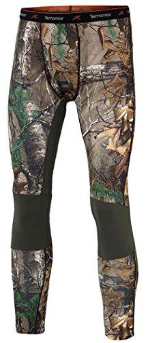 Realtree Camo-jagd-hosen (Terramar Herren Tracker Camo Fleece Pants, Herren, Realtree Xtra/Dark Loden, 3X-Large)