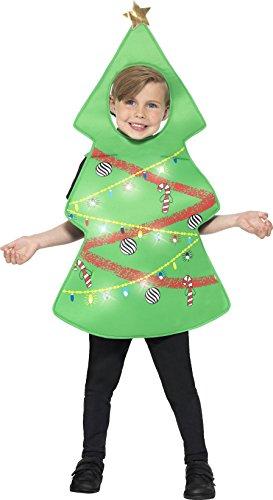 Imagen de smiffy 's–disfraz de árbol de navidad de los niños 21790ml l