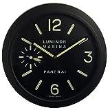 Panerai Luminoso Silencio Sweep Reloj De Pared, Negro