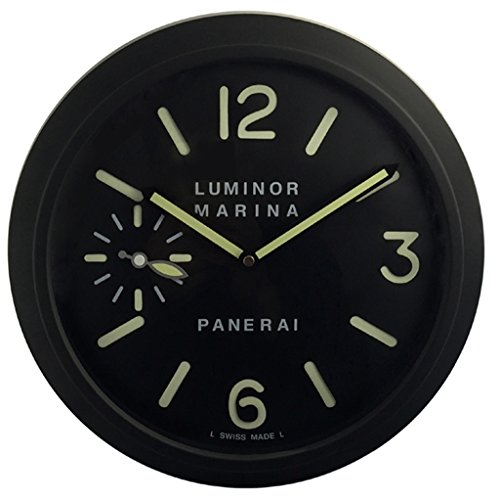 panerai-luminoso-silencio-sweep-reloj-de-pared-negro