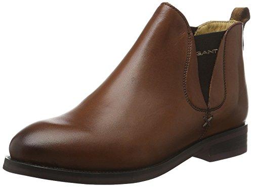 GANT Damen Avery Chelsea Boots Braun (cognac G45)