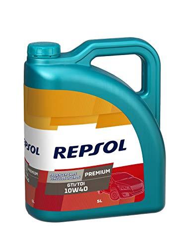 Repsol RP080X55 Premium Gti/Tdi 10W-40 Aceite de Motor para Coche, Multicolor, 5...
