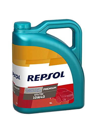 Repsol Premium GTI/TDI 10W40 Aceite lubricante para
