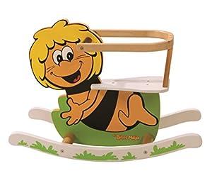 roba Maya 69021 BM1 - Abeja balancín de madera con asiento para bebés, diseño La abeja Maya importado de Alemania