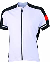 James & Nicholson Herren Sport Top Trikot Men's Bike-T Full Zip