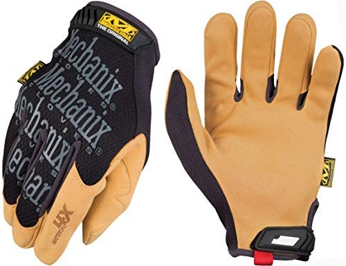 84 Serie Leder (Mechanix Wear material4 X Original, schwarz, MG4X-75-010)