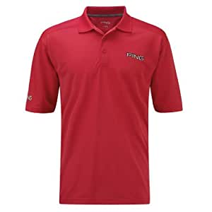 2014 Ping Collection Eagle Tour Golf Polo Shirt Faded Red Small