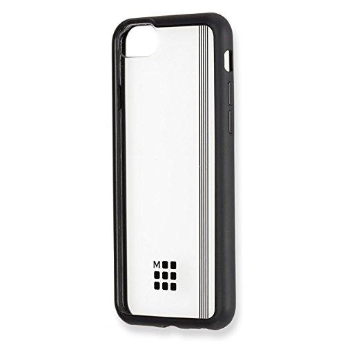Moleskine Custodia Rigida Trasparente per Iphone 6/6S/7/8, Elastico Nero