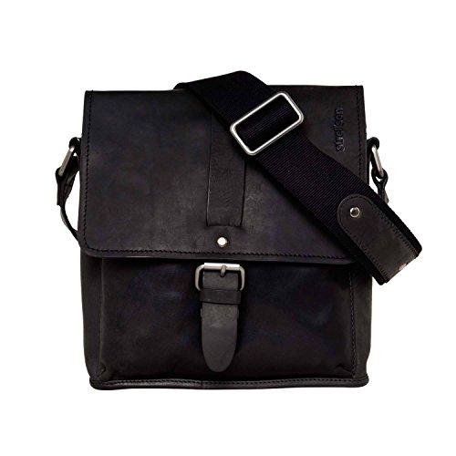 Strellson Harper Umhängetasche Leder 25 cm Black