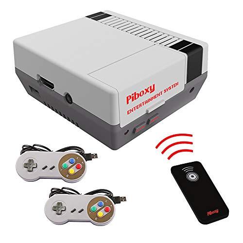 MakerFun Piboxy NES Case Ventilador botón reinicio