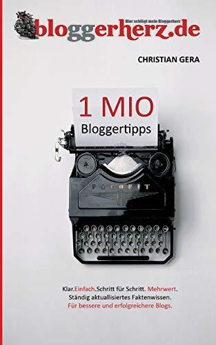 Buchseite und Rezensionen zu '1 MIO Bloggertipps' von Christian Gera