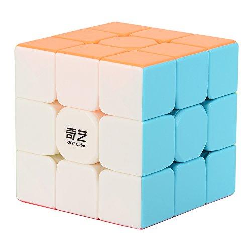 Preisvergleich Produktbild Acefun Qiyi Krieger W 3x3 Geschwindigkeits-Würfel Glatt Stickerless Magic Cube Puzzles