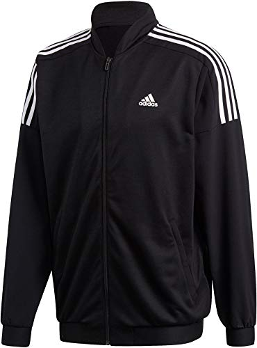 adidas Herren SID Bomber WVN Sweatshirt Black/White L