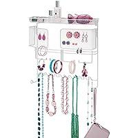 Soporte para Diadema Reloj Organizador de Joyas para el hogar y Tienda minorista Pulsera VSTAR66 Collar Terciopelo Decorativo