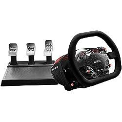 Thrustmaster - TS-XW Racer Sparco P310 Competition Mod : périphérique de simulation de course officiel pour Xbox One et Windows (PC) - Volant + pédalier
