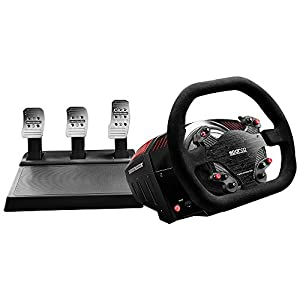 Thrustmaster TS-XW Racer (Lenkrad inkl. 3-Pedalset, Force Feedback, 270° – 1080°, Eco-System, Xbox One / PC)