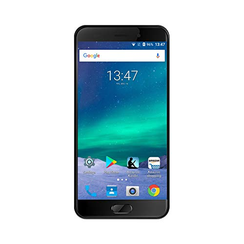 AllCall Atom (2017) 4G-LTE Einsteiger Smartphone ohne vertrag Angebote 5.5 Zoll 18:9 HD 8MP+2MP dual Rückkameras 4 Kern Prozessor 2GB RAM + 16GB Speicher Android 7.0, 2100mAh Akku Dual-SIM(Micro)