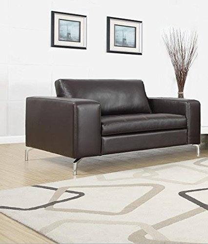Madison Sofa Set 3er & 2er & 1er Wohnlandschaft Braun - 3