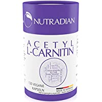 Preisvergleich für Acetyl L-Carnitin | 600 mg pro Dosis | 120 Kapseln vegan | PLASTIKFREIE Verpackung | unterstützt ketogene Diät...