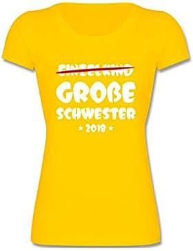 Geschwisterliebe Kind - Einzelkind Große Schwester 2018 - Mädchen T-Shirt