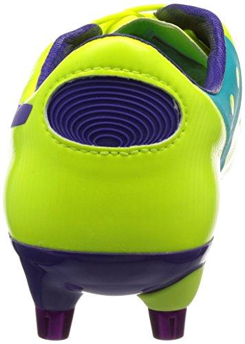 Puma Evopower 1 Mixed Sg, Chaussures de football homme Arancione (Orange (fluro yellow-prism violet-scuba blue 02))