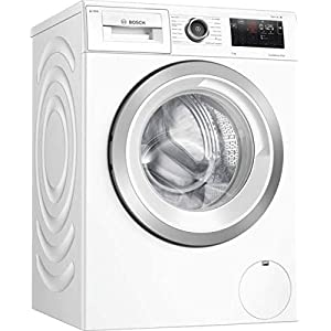 Bosch WAU28PH9GB Serie 6 Freestanding i-DOS Washing Machine, Home Connect, 9 kg Load, 1400 rpm Spin - White