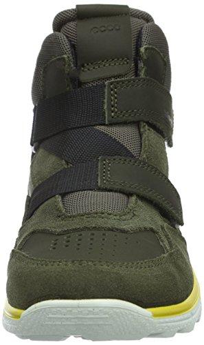 Ecco Biom Trail, Chaussures Multisport Outdoor Garçon Vert (GRAPE LEAF/BLACK59675)