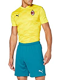 PUMA - AC Milan Stagione 20/21 Replica, Pantaloncini Uomo