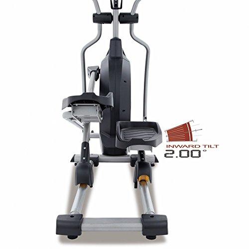Spirit Elliptical XE 195 – Ellipsentrainer, Cross Trainer mit Hand-Puls-Sensoren, Ergometer, Cardio Fitness - 5