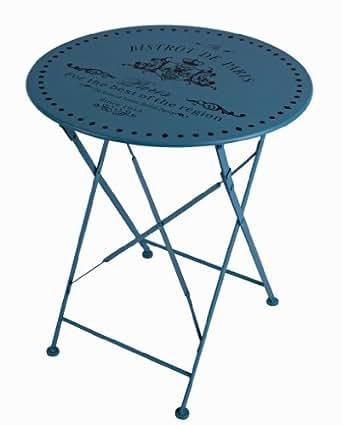 garten tisch bistro paris eisentisch rund tisch vintage gartentisch beleuchtung. Black Bedroom Furniture Sets. Home Design Ideas