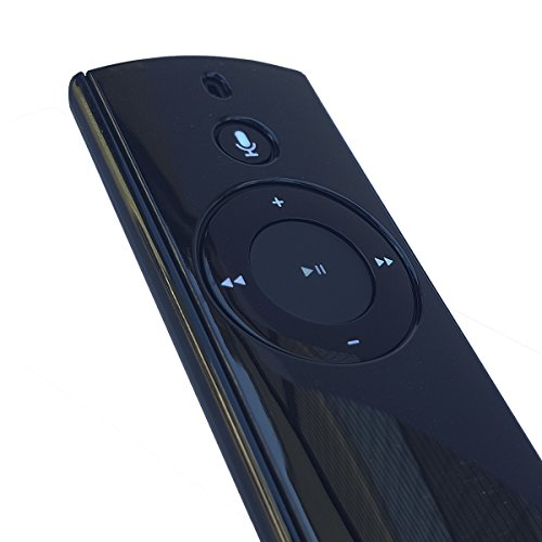 MERES Schutzhülle für den Amazon Echo/Echo Plus und für den Echo Dot Alexa Voice Remote Case, Schutzhülle für den Alexa-Sprachfernbedienung mit Freiem Lanyard (Glänzend Schwarz)