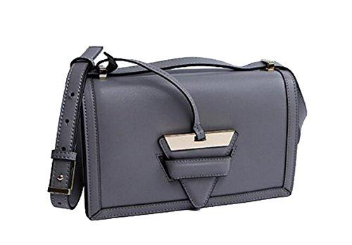 Ms. Messenger Bag In Pelle Gray
