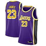 canottejerseyNBA Lebron James, Los Angeles Lakers #23 Basket Jersey