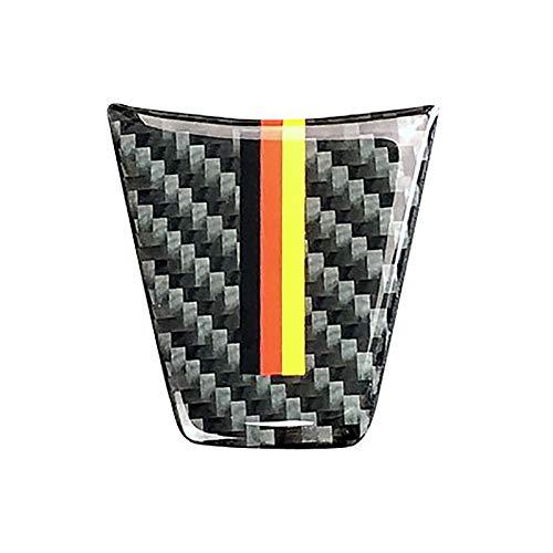 TOOGOO Nouveau Design Volant en Fiber De Carbone Autocollants De Voiture pour BMW E90 E92 Série 3 2006 2007 2008 2009 2010 2011 2012 2012 Style De Voiture (Couleur Allemande) A